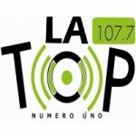 Logo da emissora La Top Radio 107.7 FM