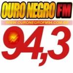 Logo da emissora Rádio Ouro Negro 94.3 FM