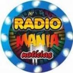 Logo da emissora Rádio Mania Notícias