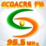 Logo da emissora Rádio Eco Acre 95.5 FM