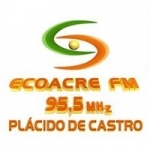 Logo da emissora Rádio Ecoacre 95.5 FM