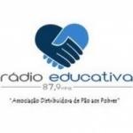 Logo da emissora Rádio Educativa 87.9 FM