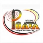 Logo da emissora Rádio Poatã 1560 AM