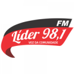 Logo da emissora Rádio Líder 98.1 FM