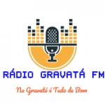 Logo da emissora Rádio Gravatá 87.9 FM