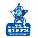 Logo da emissora Rádio Estrela do Mar 87.9 FM