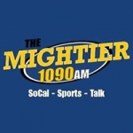 Logo da emissora Radio The Mightier 1090 AM