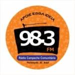 Logo da emissora Rádio Campeche 98.3 FM