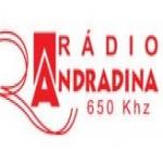 Logo da emissora Rádio Andradina 650 AM