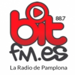 Logo da emissora Radio Bit 97.9 FM