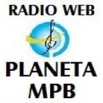 Logo da emissora Rádio Web Planeta MPB