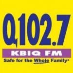 Logo da emissora KBIQ 102.7 FM Q