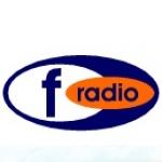 Logo da emissora F Radio 87.6 FM
