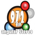 Logo da emissora Radio Angular Estéreo 97.2 FM