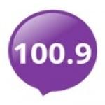 Logo da emissora Radio Music 100.9 FM