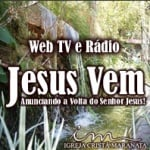 Logo da emissora Rádio Jesus Vem