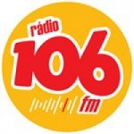 Logo da emissora Rádio 106 FM 106.7