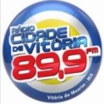 Logo da emissora Rádio Cidade de Vitória 89.9 FM