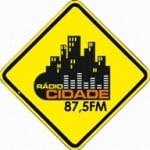 Logo da emissora Rádio Cidade 87.5 FM