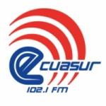 Logo da emissora Radio Ecuasur 102.1 FM