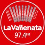 Logo da emissora Radio La Vallenata 97.4 FM