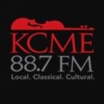 Logo da emissora Radio KCME 88.7 FM