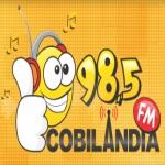 Logo da emissora Rádio Cobilândia 98.5 FM