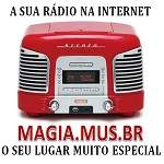 Logo da emissora Rádio Magia Mus BR