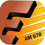 Logo da emissora Rádio Educadora 670 AM