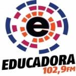Logo da emissora Rádio Educadora 102.9 FM