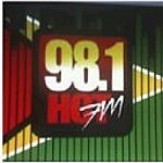 Logo da emissora Radio Hot 98.1 FM