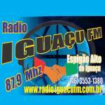 Logo da emissora Rádio Iguaçu 87.9 FM