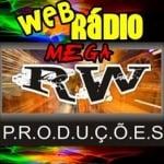 Logo da emissora Web Rádio Mega RW Produções
