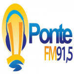 Logo da emissora Rádio Ponte 91.5 FM