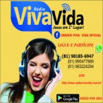 Logo da emissora Rádio Viva Vida Online