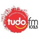 Logo da emissora Rádio Tudo 103.5 FM