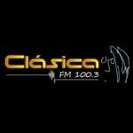 Logo da emissora Radio Clásica 100.3 FM