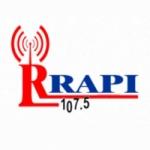 Logo da emissora Rrapi 107.5 FM