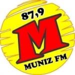 Logo da emissora Rádio Muniz 87.9 FM