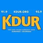 Logo da emissora Radio KDUR 93.9 FM