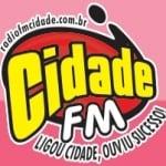 Logo da emissora Rádio Cidade 107.7 FM