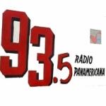 Logo da emissora Radio Panamericana 93.5 FM
