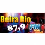 Logo da emissora RádioBeira Rio  87.9  FM