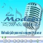 Logo da emissora Rádio Modelo Publicidade