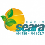 Logo da emissora Rádio Seara 102.7 FM