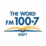Logo da emissora Radio KGFT 100.7 FM