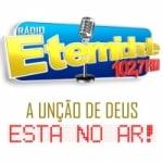 Logo da emissora Rádio Eternidade 102.7 FM