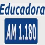 Logo da emissora Rádio Educadora 1180 AM