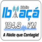 Logo da emissora Rádio Ibiaçá 104.9 FM