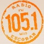 Logo da emissora Radio Escobar 105.1 FM